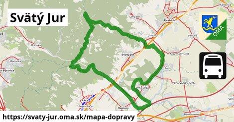 ikona Mapa dopravy mapa-dopravy  svaty-jur