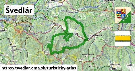 ikona Turistická mapa turisticky-atlas  svedlar