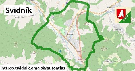 ikona Mapa autoatlas  svidnik
