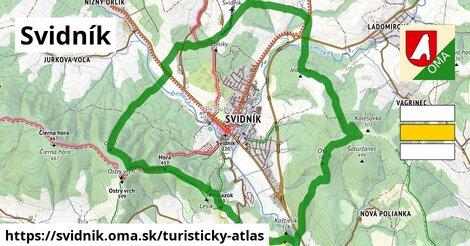 ikona Svidník: 18km trás turisticky-atlas  svidnik