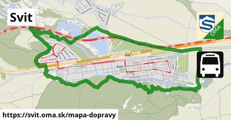 ikona Mapa dopravy mapa-dopravy  svit
