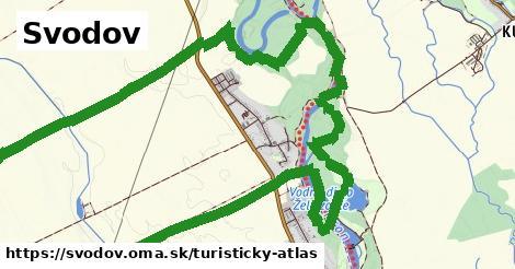 ikona Svodov: 0m trás turisticky-atlas v svodov