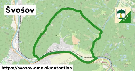 ikona Mapa autoatlas  svosov
