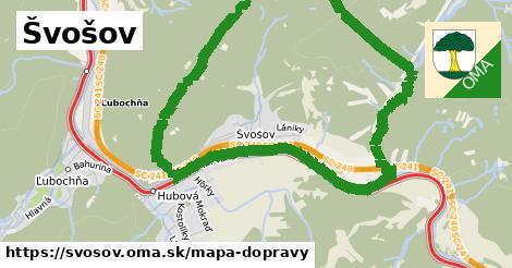 ikona Mapa dopravy mapa-dopravy v svosov