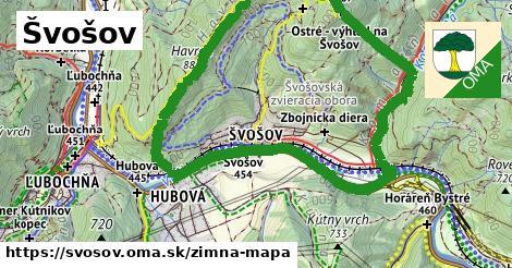 ikona Zimná mapa zimna-mapa v svosov