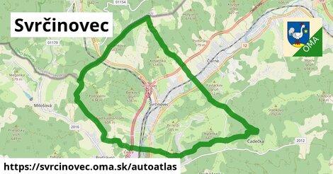 ikona Mapa autoatlas  svrcinovec