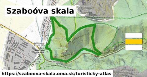 ikona Turistická mapa turisticky-atlas  szaboova-skala