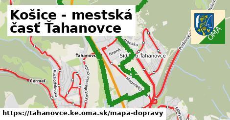 ikona Mapa dopravy mapa-dopravy  tahanovce.ke