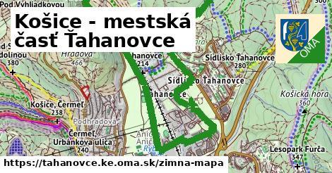 ikona Zimná mapa zimna-mapa  tahanovce.ke