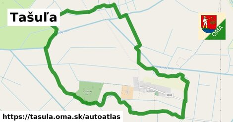 ikona Mapa autoatlas  tasula