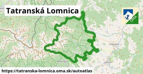 ikona Mapa autoatlas  tatranska-lomnica