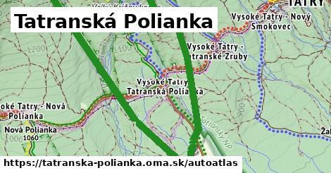 ikona Mapa autoatlas  tatranska-polianka