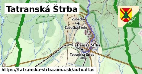 ikona Mapa autoatlas  tatranska-strba
