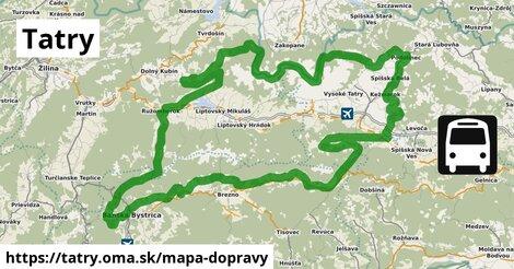 ikona Mapa dopravy mapa-dopravy  tatry