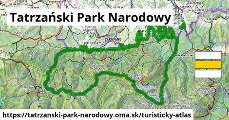 ikona Turistická mapa turisticky-atlas  tatrzanski-park-narodowy