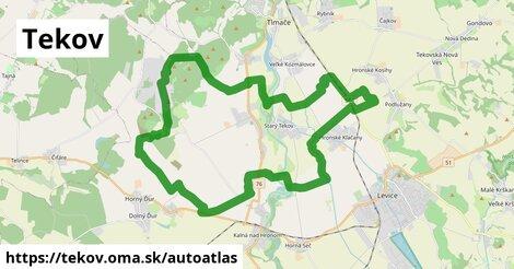 ikona Mapa autoatlas  tekov