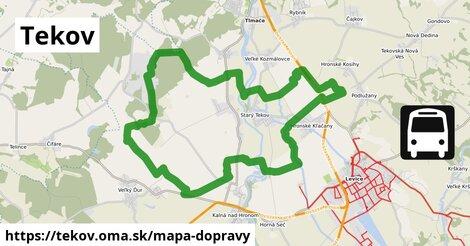 ikona Mapa dopravy mapa-dopravy  tekov