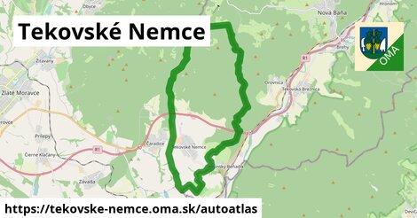 ikona Mapa autoatlas  tekovske-nemce