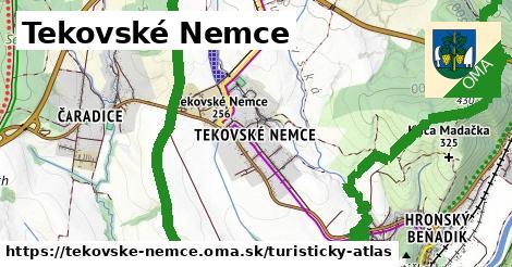 ikona Turistická mapa turisticky-atlas  tekovske-nemce
