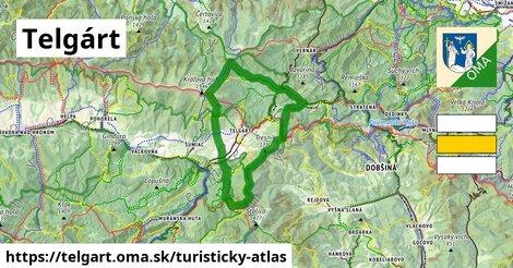 ikona Telgárt: 48km trás turisticky-atlas  telgart