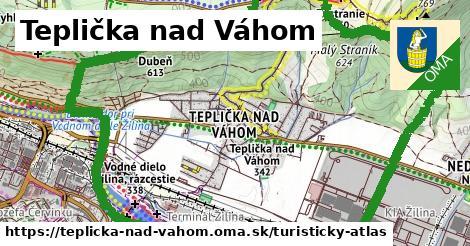 ikona Turistická mapa turisticky-atlas v teplicka-nad-vahom