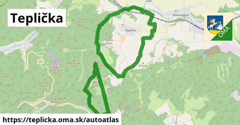 ikona Mapa autoatlas  teplicka