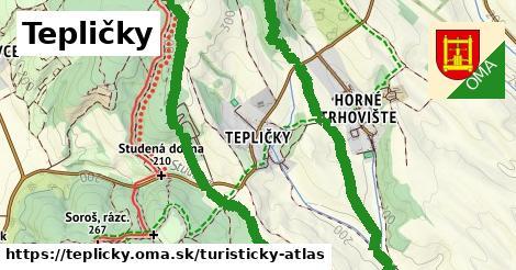 ikona Turistická mapa turisticky-atlas v teplicky