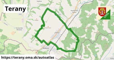 ikona Mapa autoatlas  terany