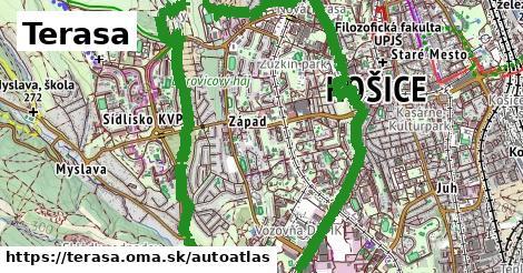 ikona Mapa autoatlas  terasa
