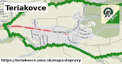 ikona Mapa dopravy mapa-dopravy v teriakovce