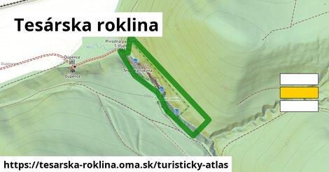 ikona Turistická mapa turisticky-atlas  tesarska-roklina