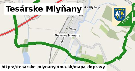ikona Mapa dopravy mapa-dopravy v tesarske-mlynany