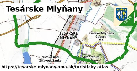 ikona Turistická mapa turisticky-atlas  tesarske-mlynany