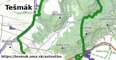 ikona Mapa autoatlas  tesmak