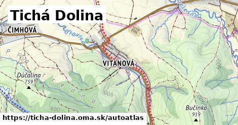 ikona Mapa autoatlas  ticha-dolina