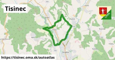 ikona Mapa autoatlas  tisinec