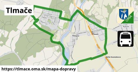 ikona Mapa dopravy mapa-dopravy  tlmace