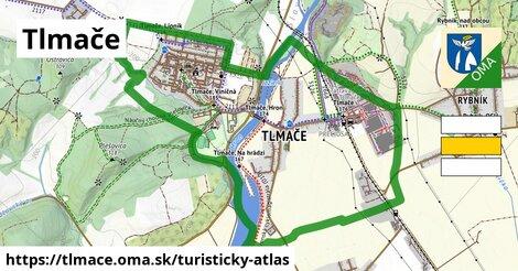 ikona Turistická mapa turisticky-atlas  tlmace