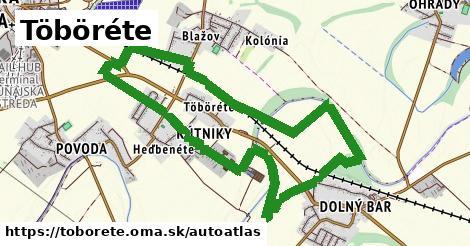 ikona Mapa autoatlas  toborete