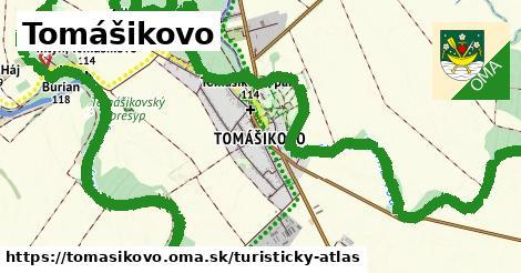 ikona Turistická mapa turisticky-atlas  tomasikovo