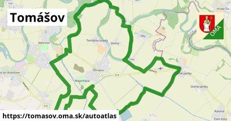 ikona Mapa autoatlas  tomasov