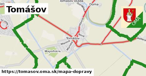 ikona Mapa dopravy mapa-dopravy  tomasov