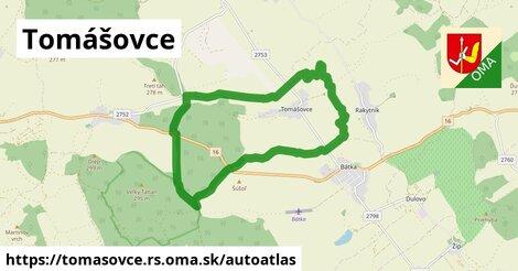 ikona Mapa autoatlas  tomasovce.rs