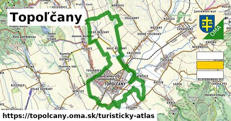 ikona Turistická mapa turisticky-atlas  topolcany