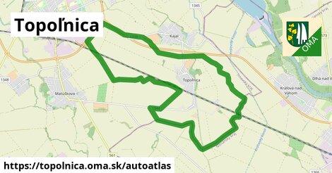 ikona Mapa autoatlas  topolnica
