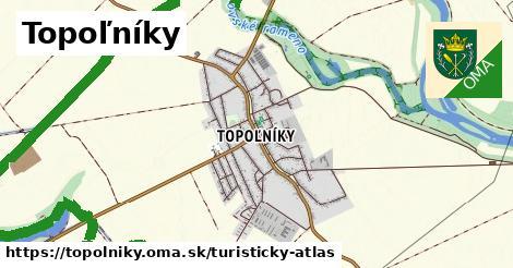 ikona Turistická mapa turisticky-atlas  topolniky