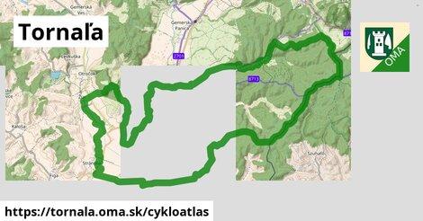 ikona Tornaľa: 24km trás cykloatlas  tornala