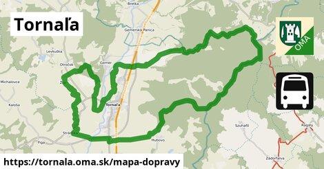ikona Tornaľa: 5,6km trás mapa-dopravy  tornala