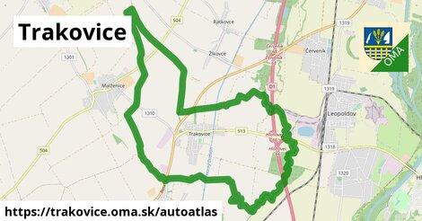 ikona Mapa autoatlas  trakovice