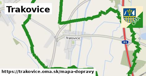 ikona Mapa dopravy mapa-dopravy  trakovice
